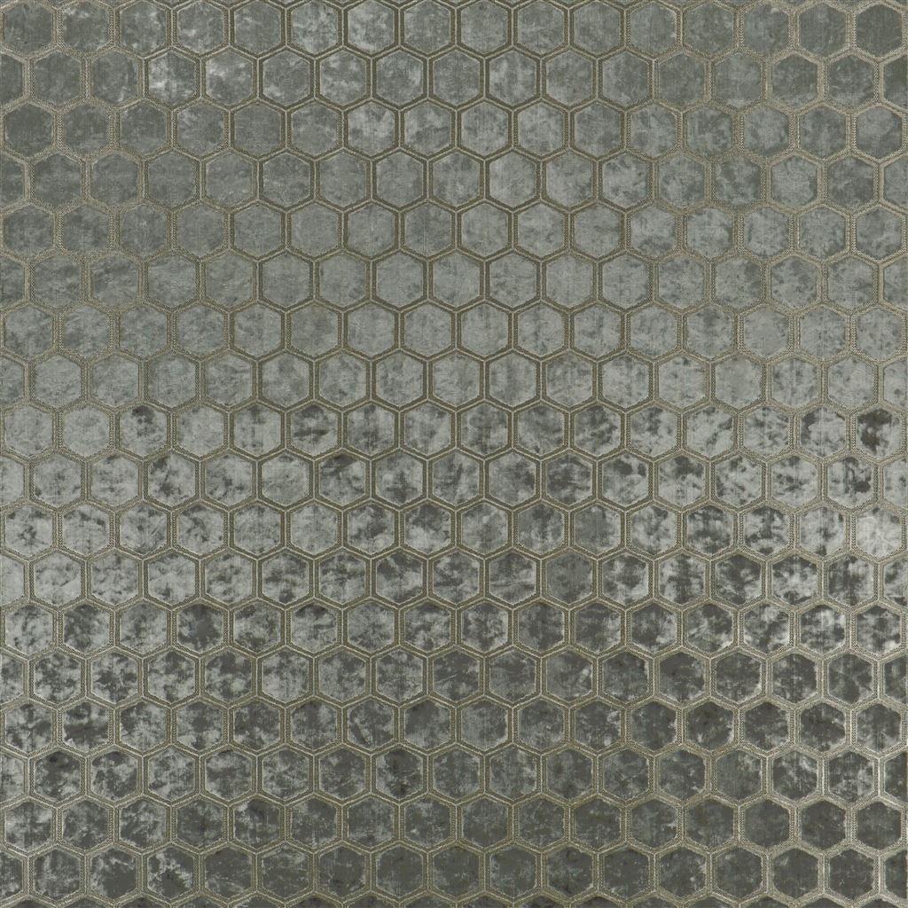 De prachtige fluwelen stof met honinggraad patroon, Manipur moleskin