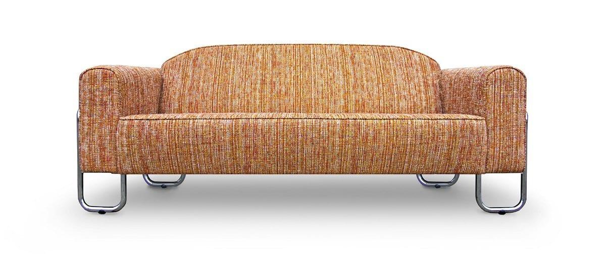 deze bauhaus gispen-achtige bank dyker 30 ziet er uit als een stoere vintage bank en wordt handgemaakt in sneek bij dutch seating company#gispen-achtig#bauhaus#dyker#vintage#dutch seating company#retro#handgemaakt#madeinholland