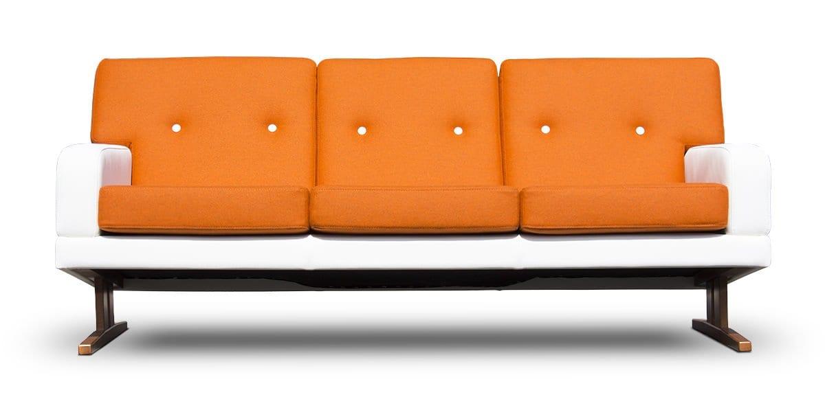 New vintage de dyker 70 van dutch seating company - Bank jaren ...