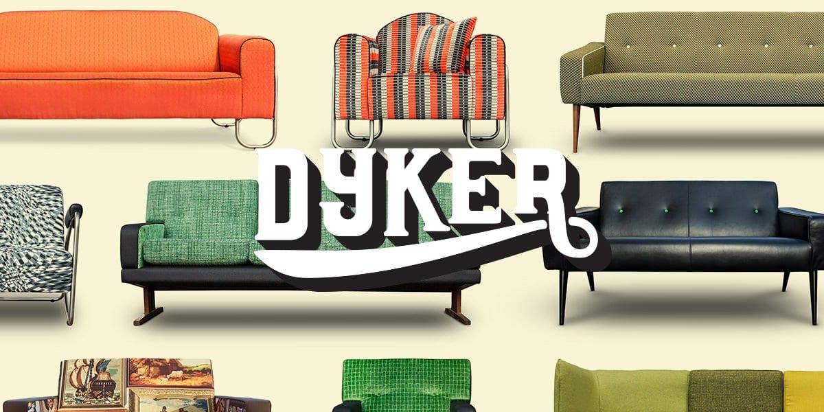 de vintage banken van dutch seating company helemaal op maat gemaakt in de stof die het beste bij je interieur past#vintage#maatwerk#dutch seating company#dyker