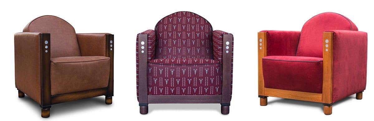 een echte hollandse art deco fauteuil rooker met een grote keuze aan unieke en art deco stoffen van backhausen#hollandse art deco#art deco#art deco webwinkel#unieke stoffen#backhausen#made in holland#dutch seating company#rooker