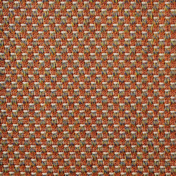 In Italie geweven tweed-achtige oranje stof, Fred oranje