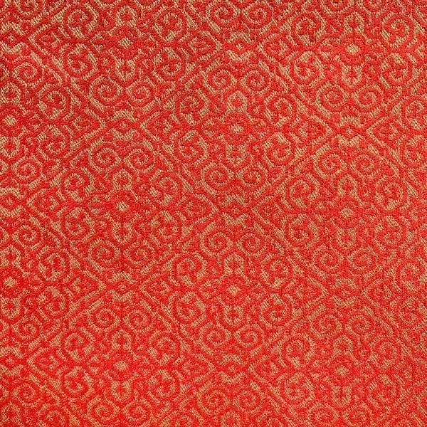 De rood/gouden oosterse stof, Migato van Dutch Seating Company