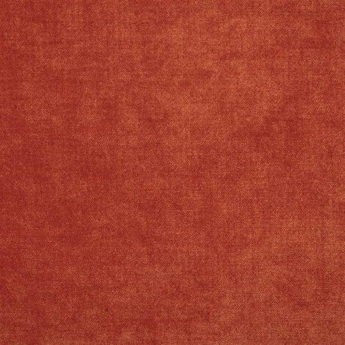 Velours van Designers Guild, Zaragoza paprika in een oranje/rode kleur