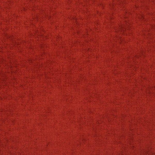 Velours van Designers Guild, Zaragoza terra in een terra-rood kleur
