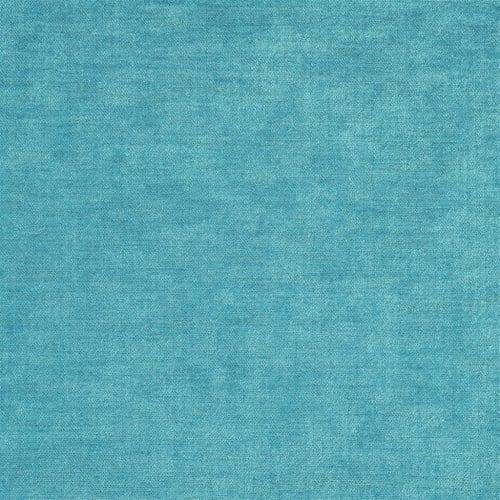 Velours van Designers Guild, Zaragoza turquoise in een turquoise kleur