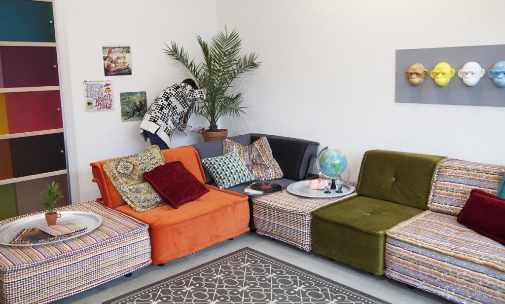 de heerlijke lounge elementen uit de casablanca collectie van dutch seating company#loungen#zitcombinatie#modulaire bank#zitelementen#elementenbank#casablanca