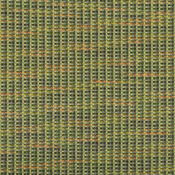 Bijzondere stof met verschillende kleuren garens, Breccia emerald