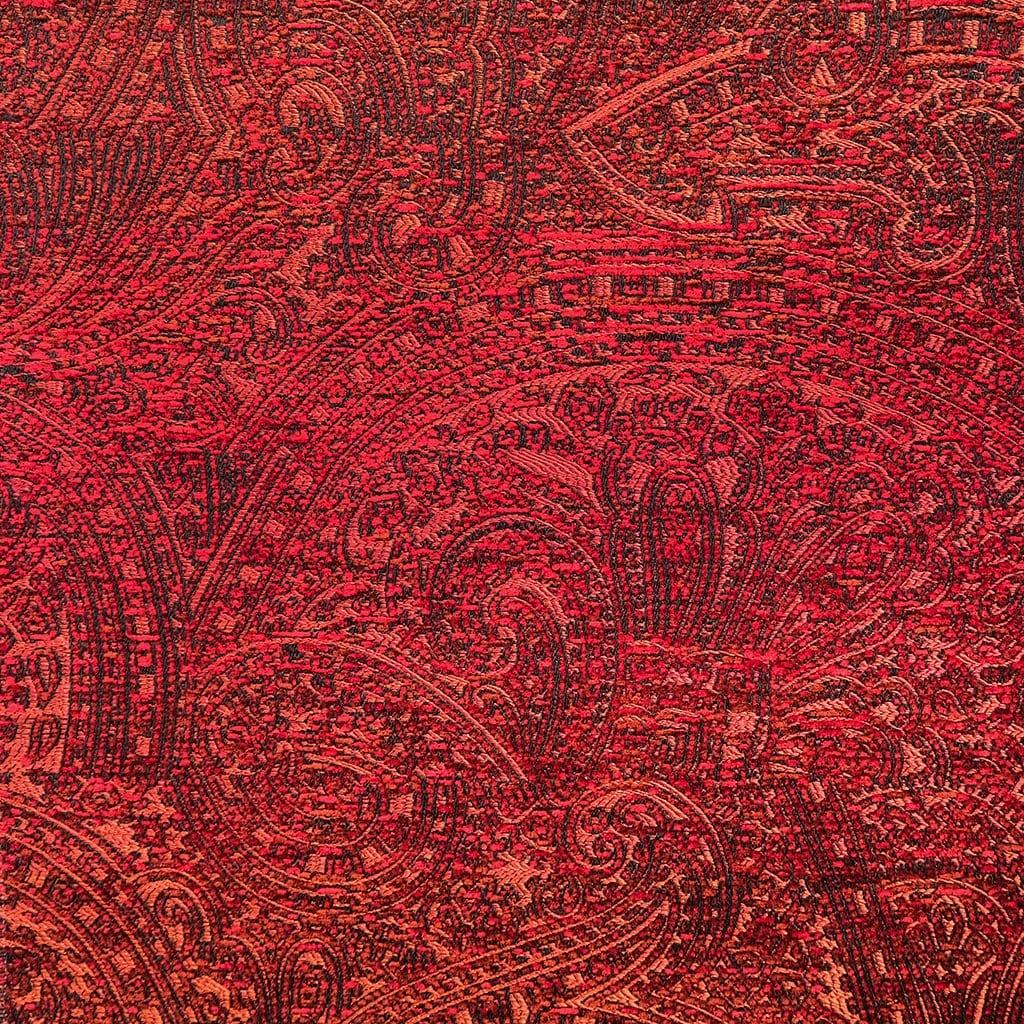 Jacquard geweven stof Nebbiolo rood van Dutch Seating Company