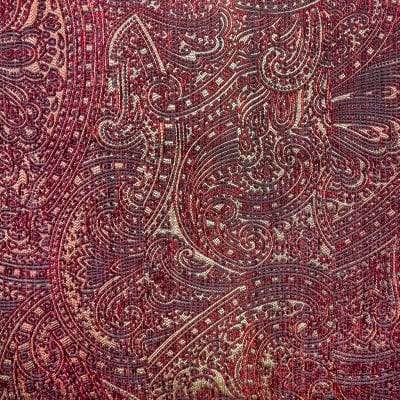 een paisley-dessin jacquard geweven stof van dutch seating company#paisley #jacquard geweven stof #jacquard #dutch seating company