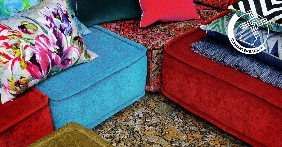 Rood Tweezits Bankje.Dutch Seating Company Maatwerk Made In Holland