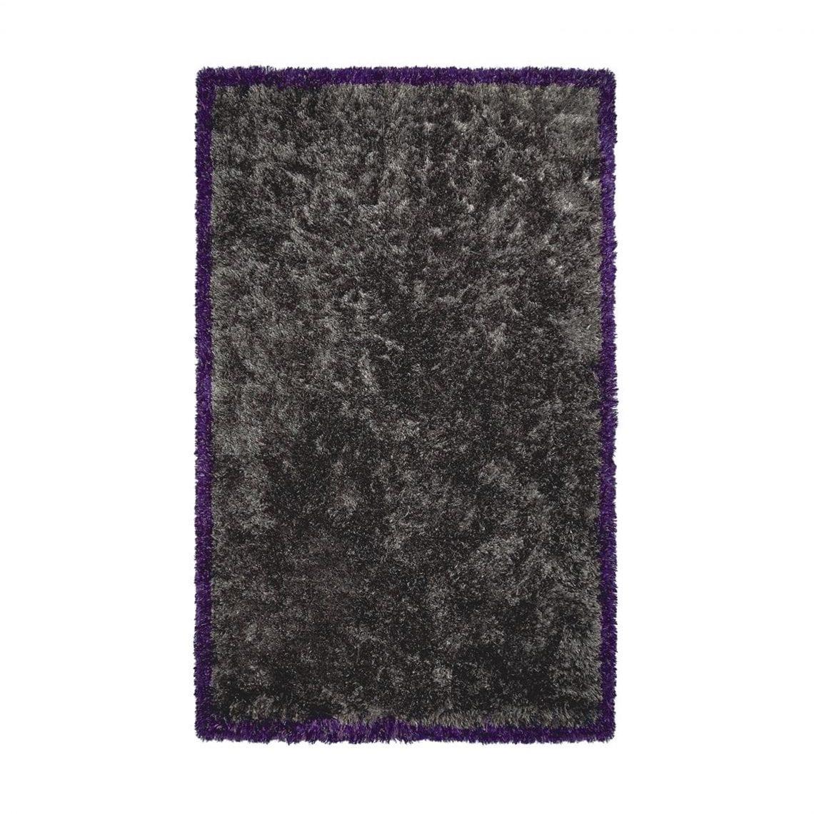 Grijs vloerkleed met gekleurde garens Rossolo birch van Designers Guild