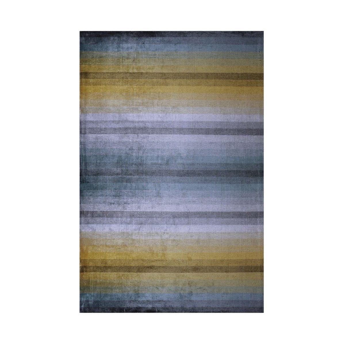 Kleurrijk, eigentijds kleed Santafiora azure van Designers Guild