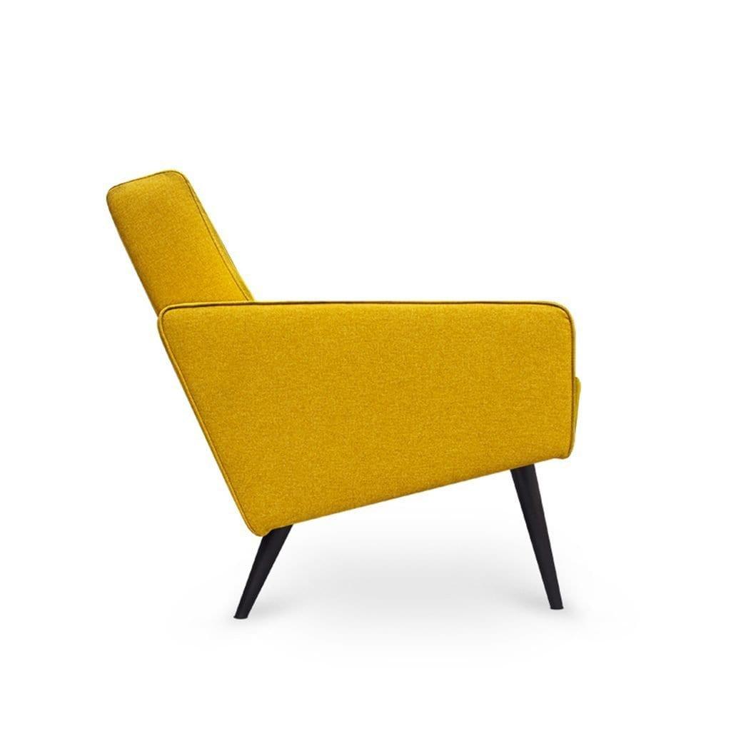 Scandinavische Dyker 60 in de stof Shetland van Dutch Seating Company