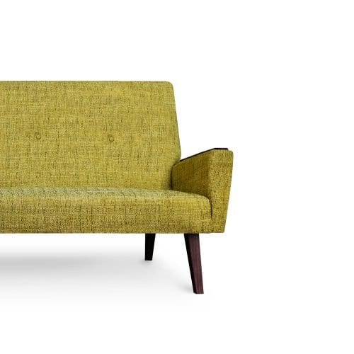 De elegante new vintage Dyker 65 in de structuurstof Grasmere acacia