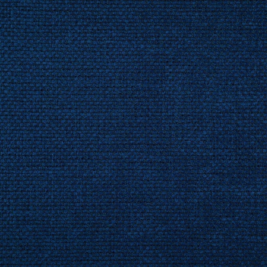 Stevige easy clean stof Birkett cobalt van Designers Guild