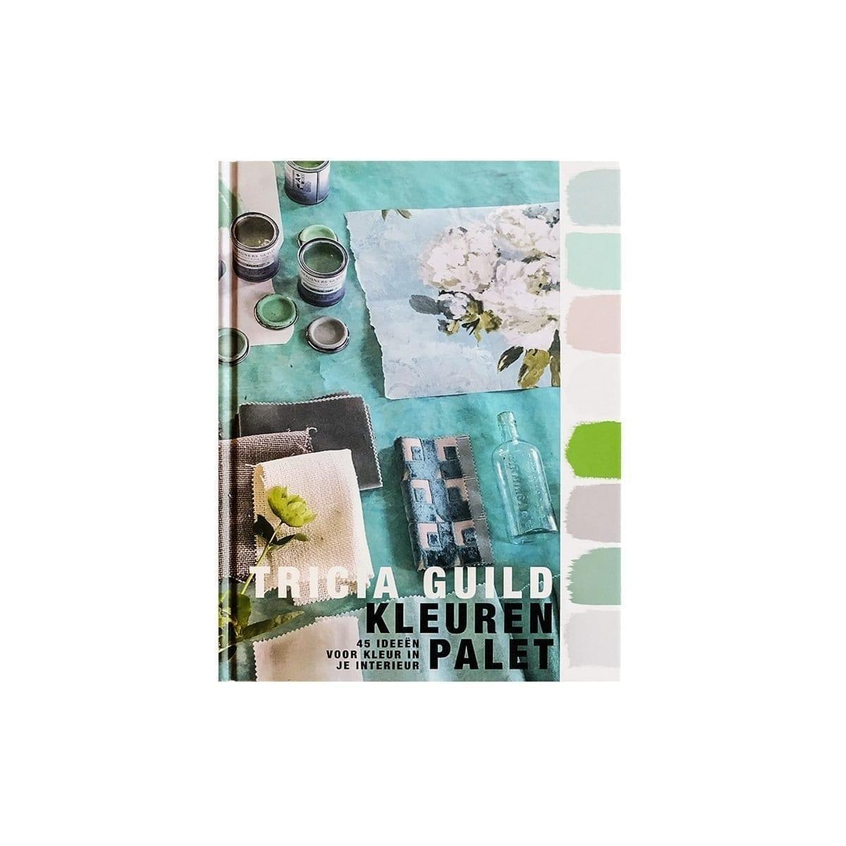 Boek geschreven door Tricia Guild, Tricia Guild kleurenpalette