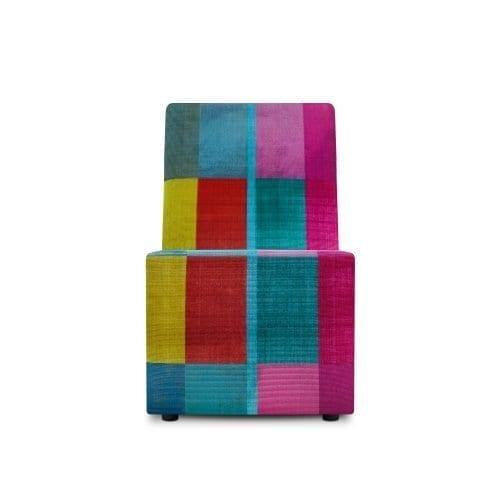 Elementenbank tussenelement colorful