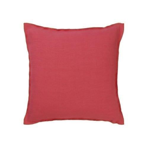 Tweekleurig modern kussen Brera lino azalea van Designers Guild