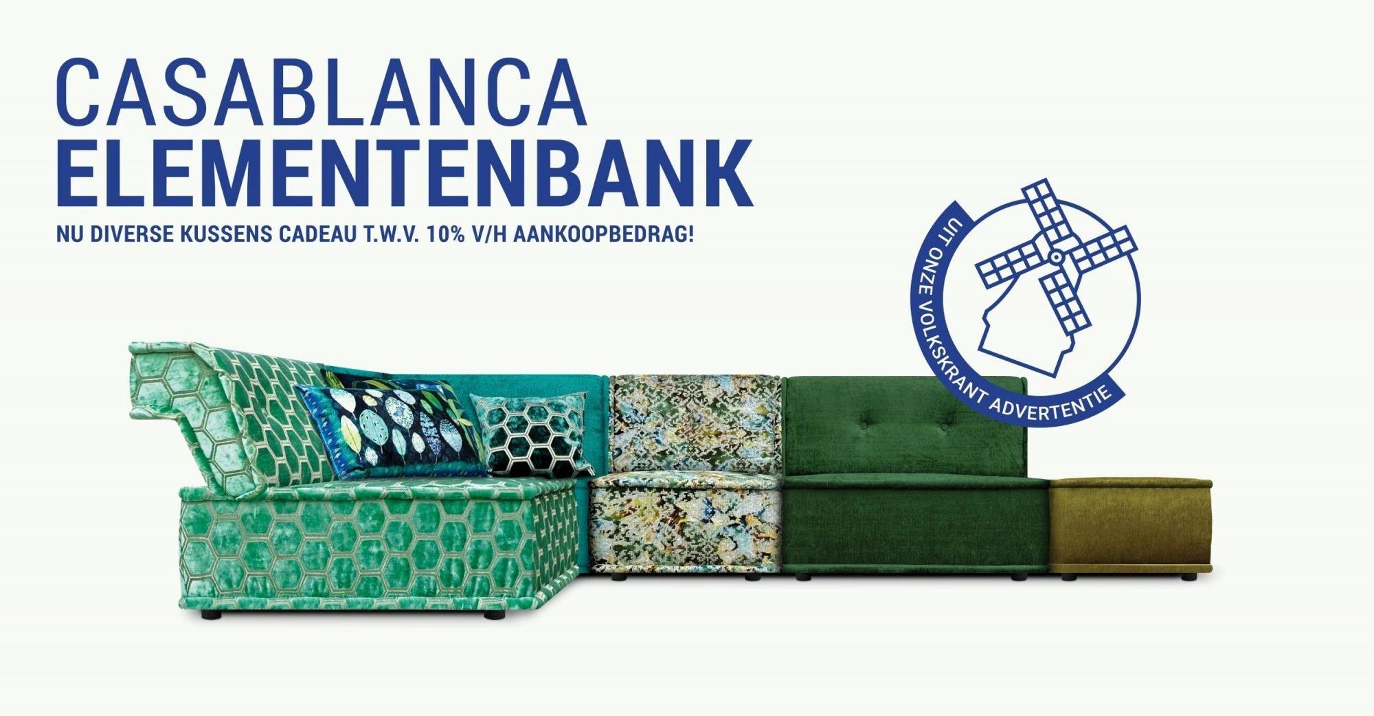 Casablance Elementen Bank Dutch Seating Company