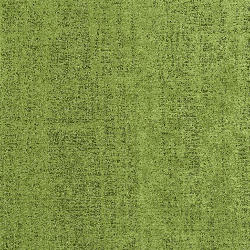 De veelzijdige meubelstof Ampara leaf in de kleur lichtgroen