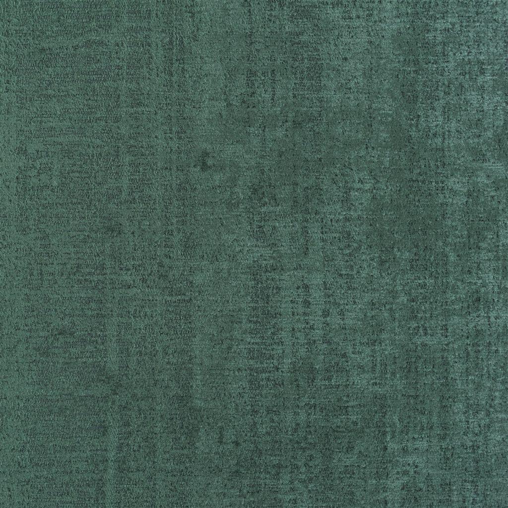 De veelzijdige stof Ampara viridian in het groen/blauw