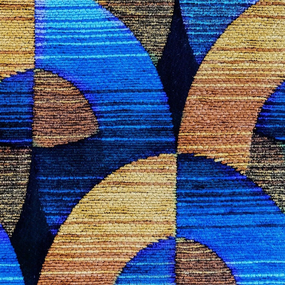 De exclusieve art deco stof Oriënt express van Dutch Seating Company