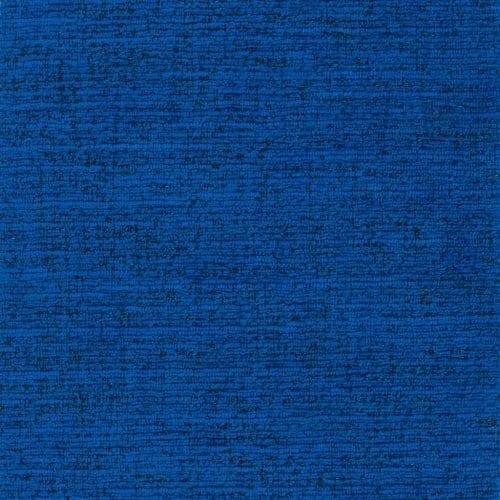 Sterke velours-achtige blauwe meubelstof Trevellas cobalt van Designers Guild