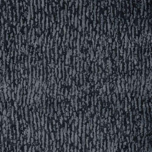 Bourlet graphite is een verfijnde, fluwelen stof van Designers Guild