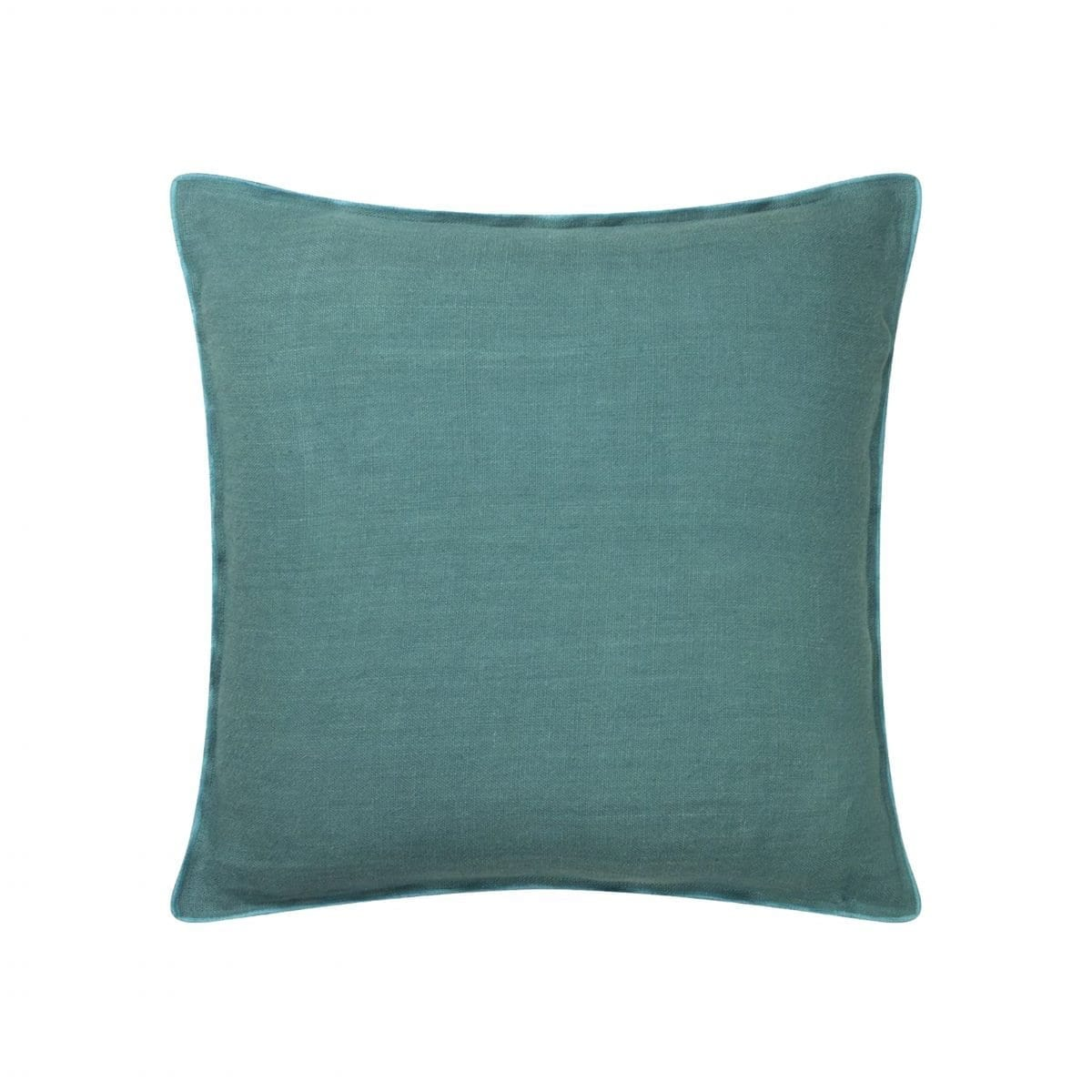 Tweekleurig modern kussen Brera lino ocean van Designers Guild