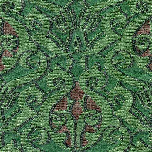 de groen rode stof dulce van backhausen