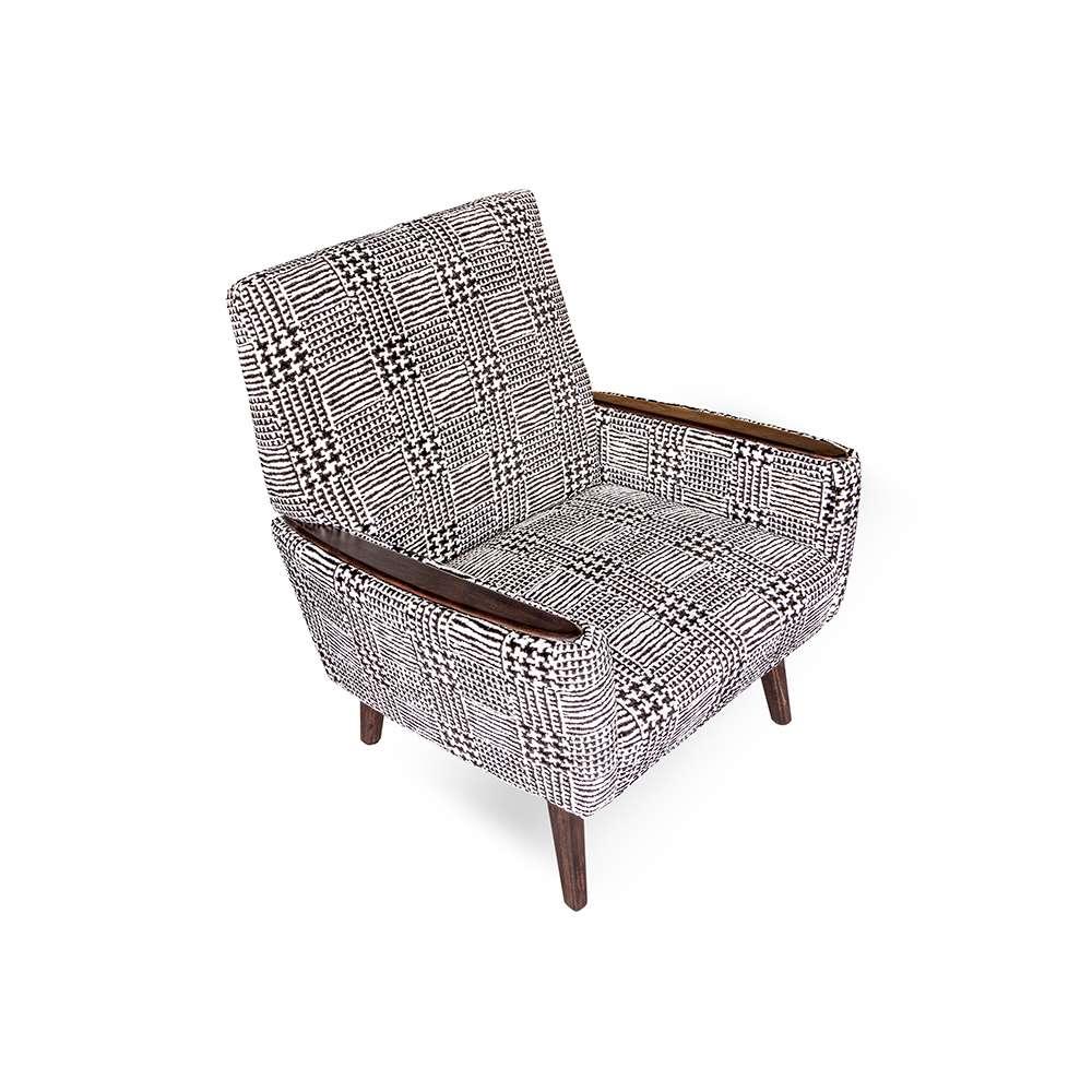 de dyker 65 fauteuil met designers guild stoffen