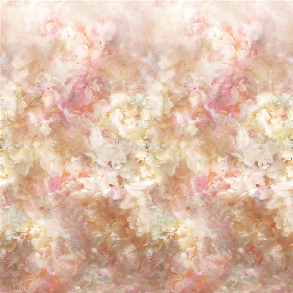 Fleur de Nuit is een bijzonder behang van Designers Guild