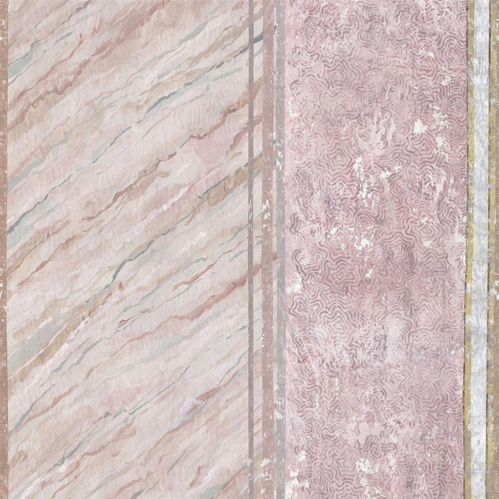 Een prachtig gedetailleerd behang, Foscari fresco van Designers Guild