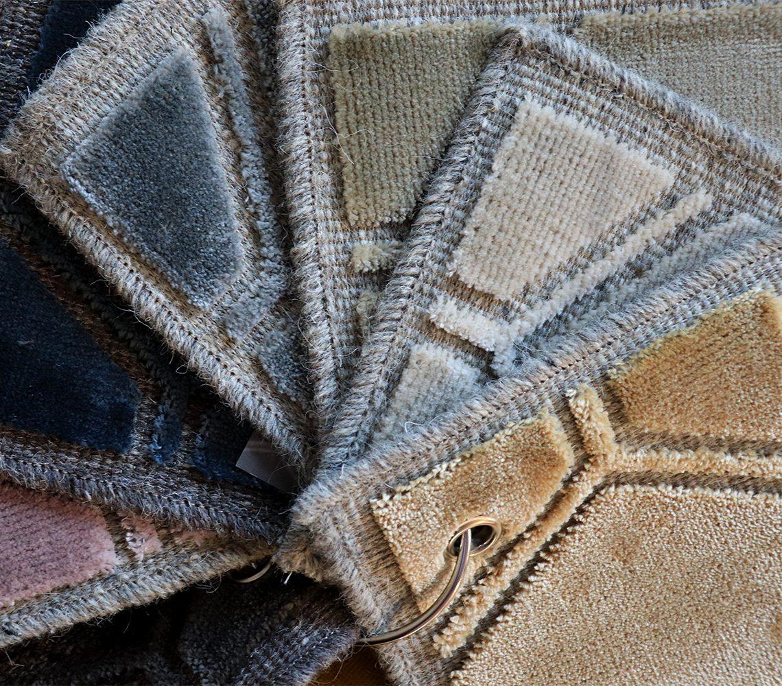 het manipur vloerkleed is verkrijgbaar in diverse kleuren
