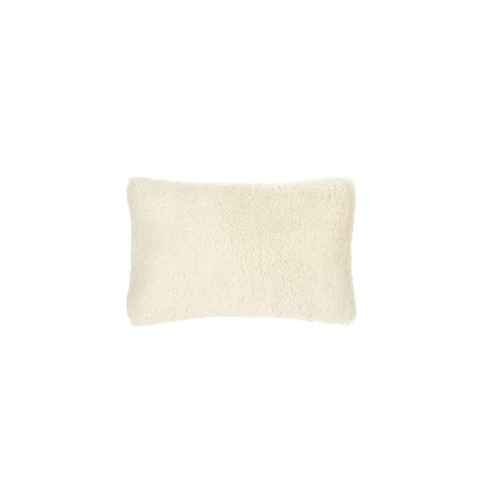 Mousson chalk een klein beige kussentje van Designers Guild