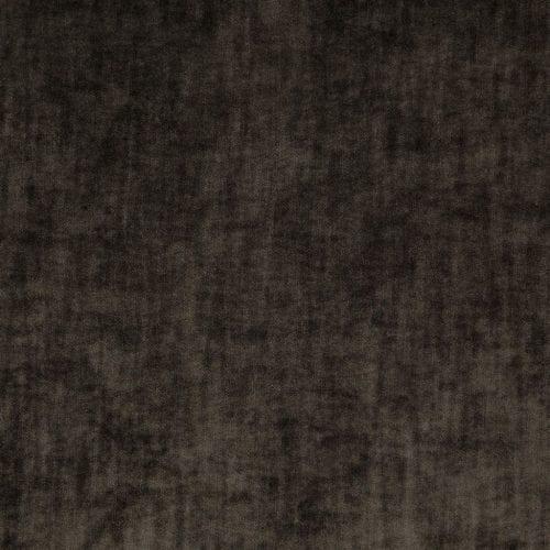 Een fluwelen easy clean stof van Designers Guild, de opera espresso