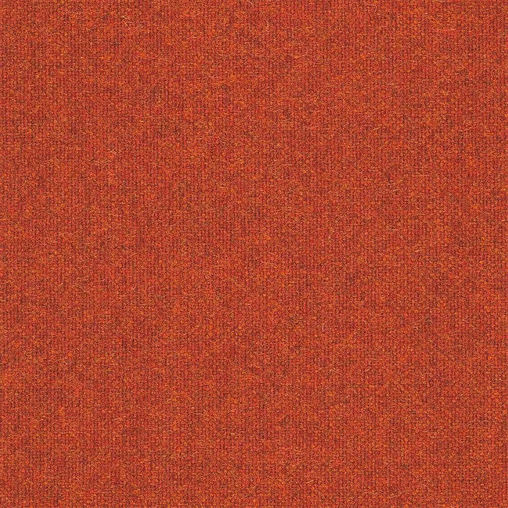 een terra gekleurde wollen stof van keymer