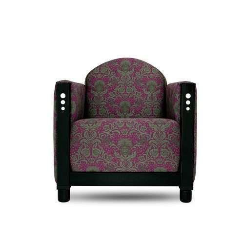 rooker 03 fauteuil in een stof van backhausen