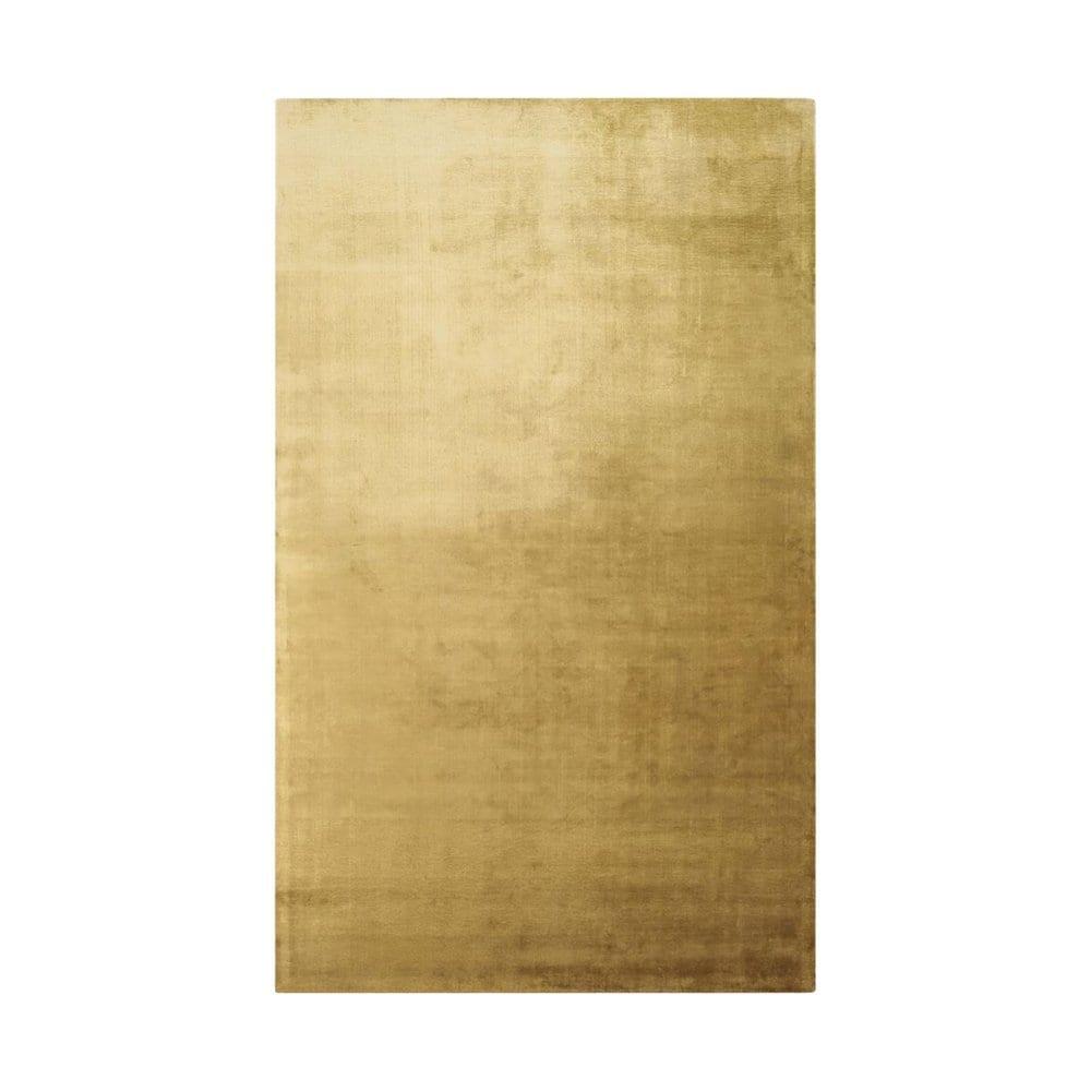 Saraille is een vloerkleed met overgang van okergeel naar bruin