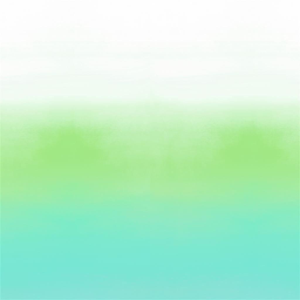 Savoie azure is een behang met kleurverloop van wit, naar limoengroen en donkergroen van Designers Guild.
