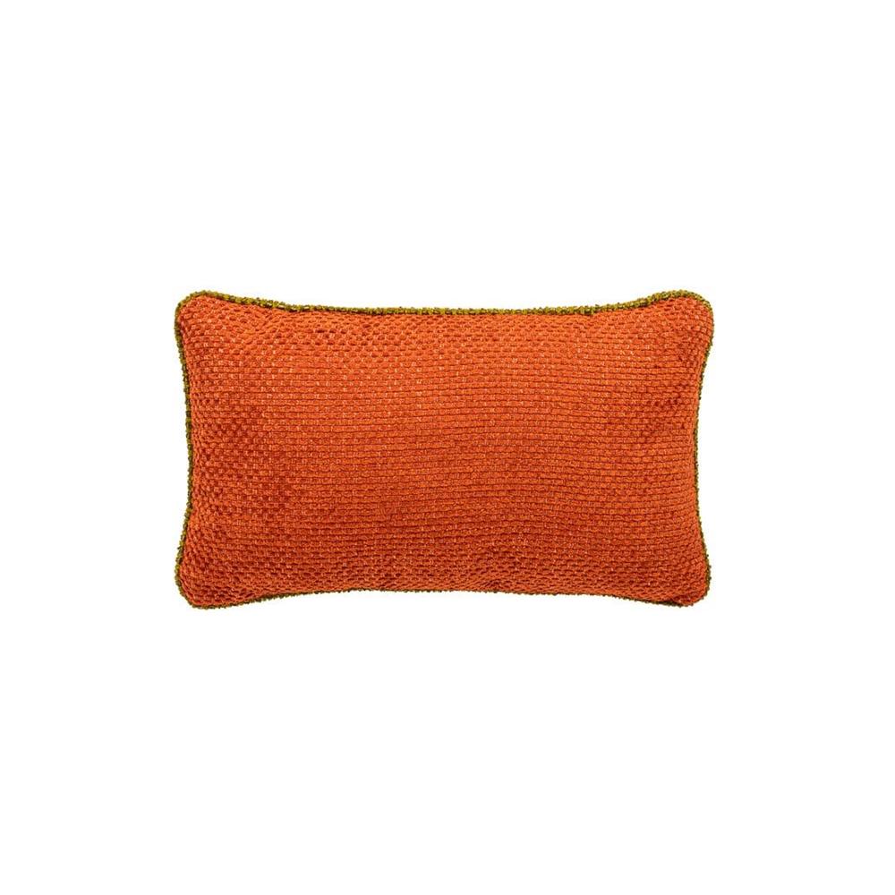 oranje kussen voor de chroombuis bank dyker 30 van dutch seating company