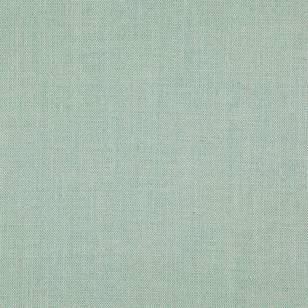 de skye celadon van designers guild is een easy clean stof