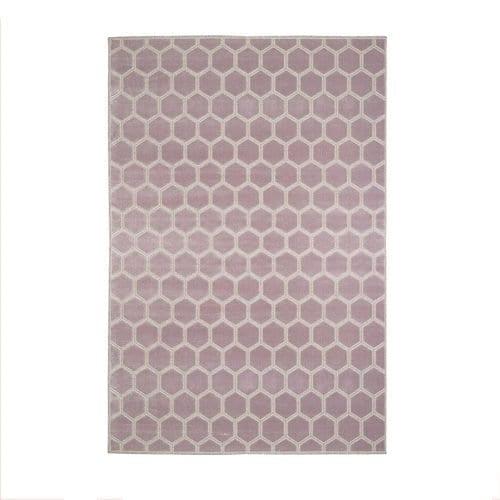 een geometrisch vloerkleed van designers guild