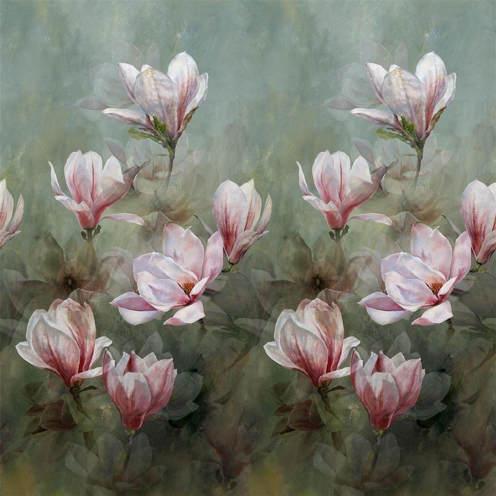 Een prachtige weergave van magnolia bloesems van Designers Guild, Yulan Magnolia