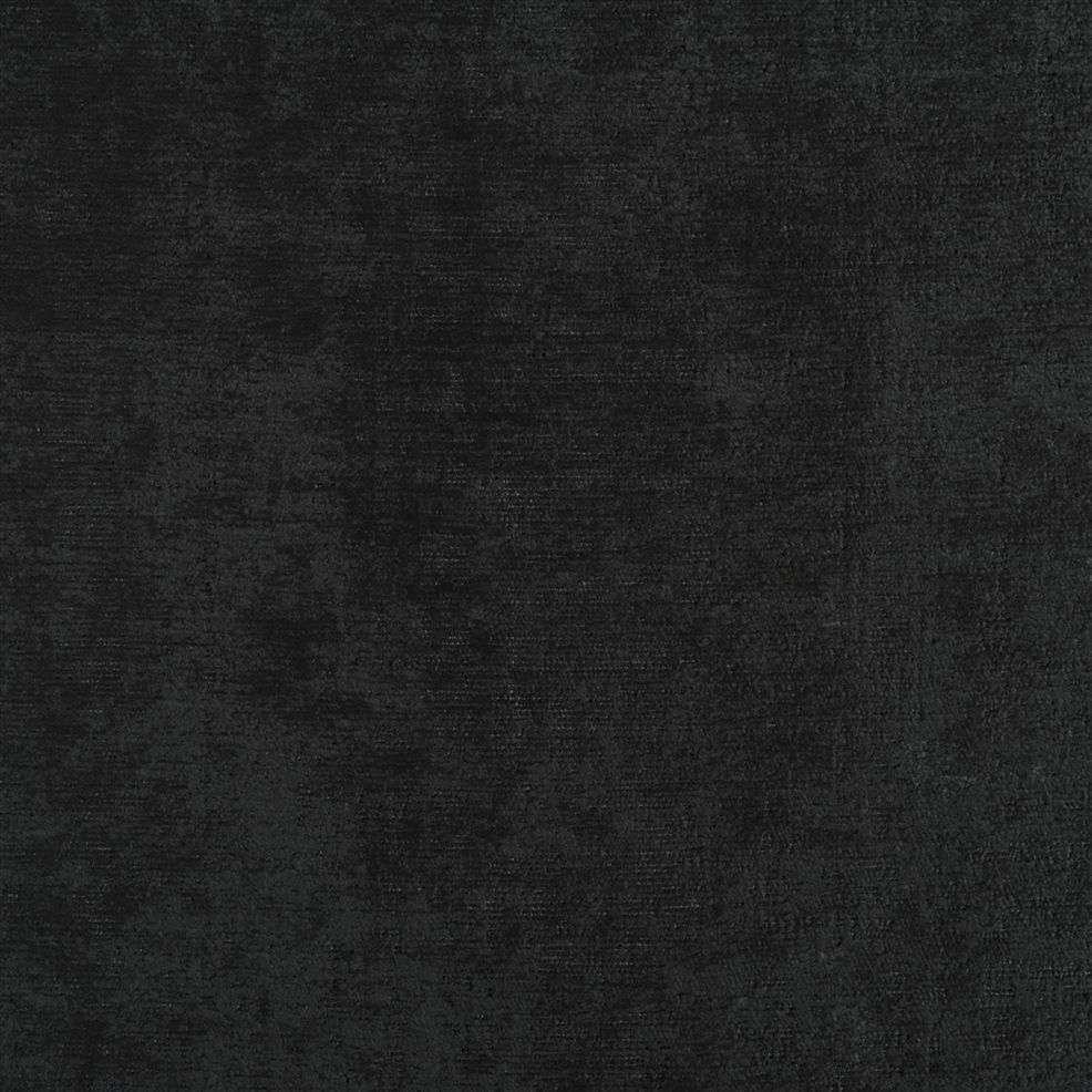 een zwarte rijke velours van designers guild