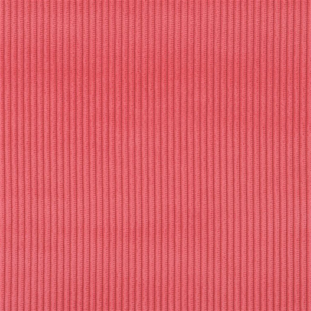 De ongelofelijk slijtvaste stof Corda in de kleur azalea