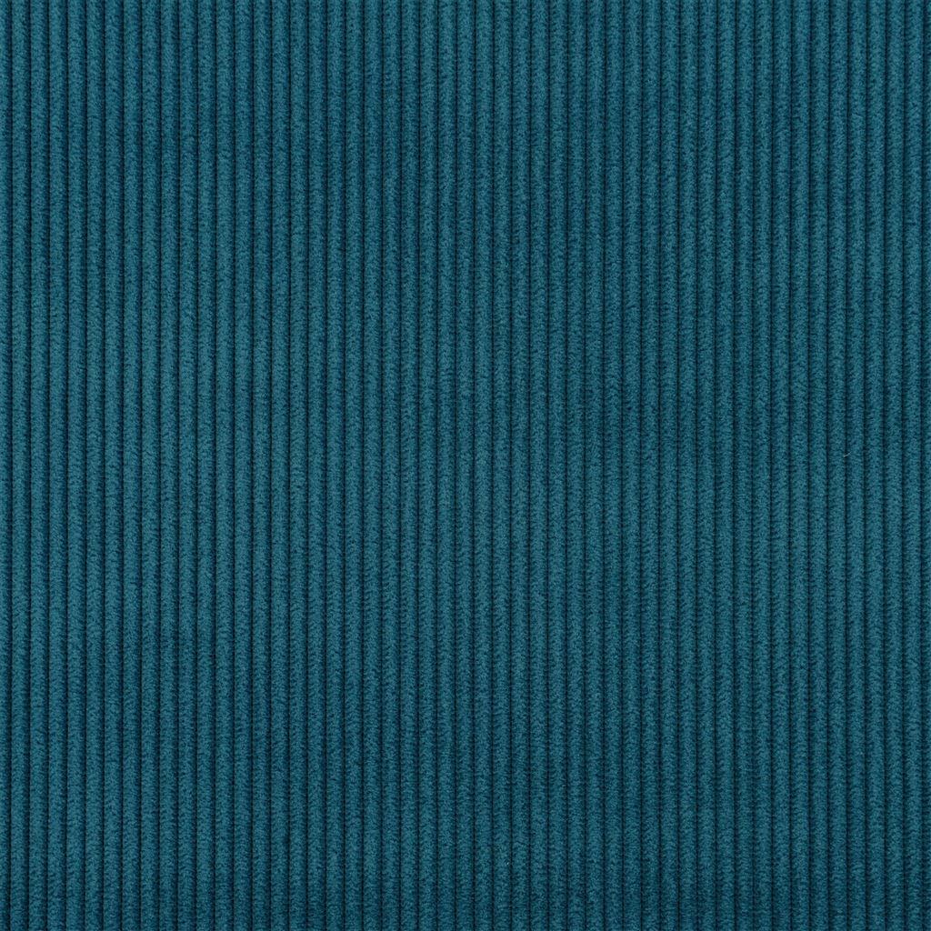 De ongelofelijk slijtvaste stof Corda in de kleur cobalt