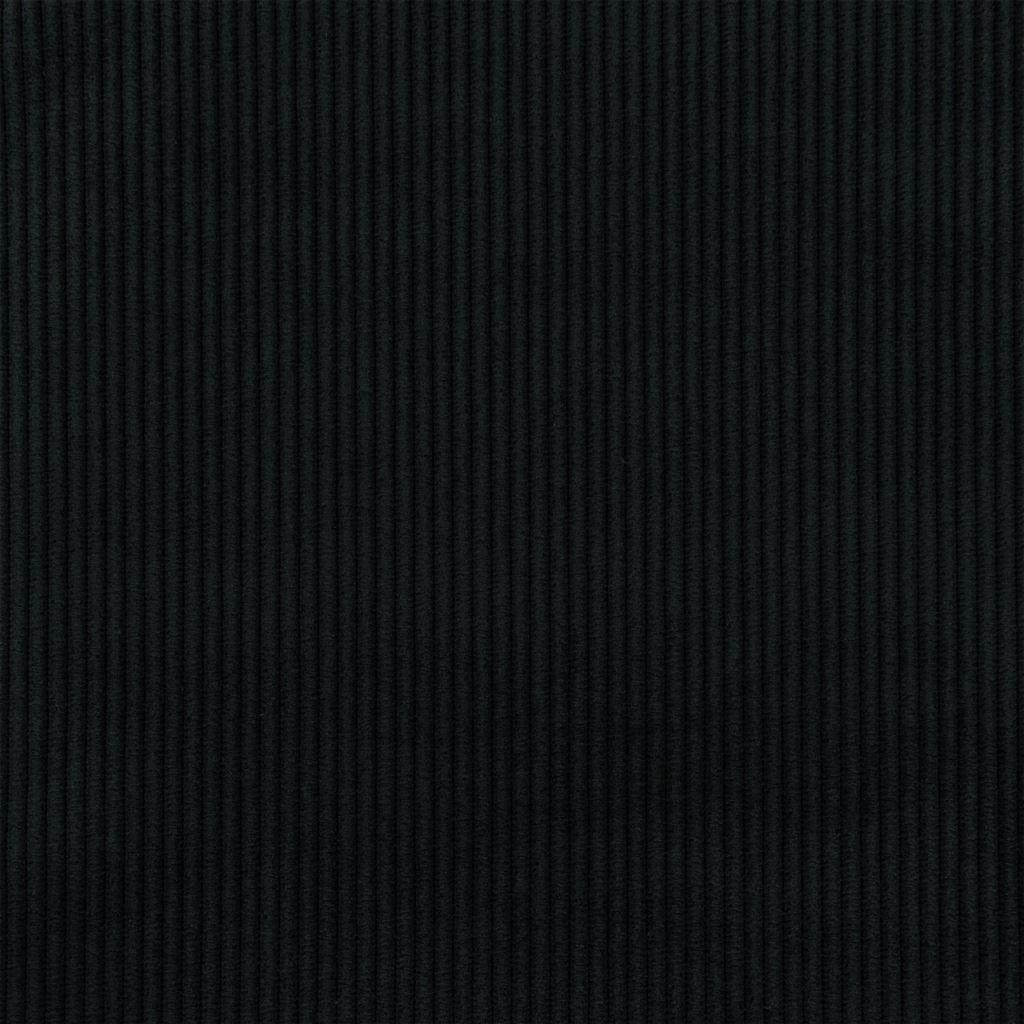 De ongelofelijk slijtvaste stof Corda in de kleur noir