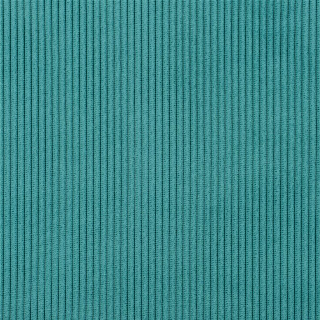 De ongelofelijk slijtvaste stof Corda in de kleur ocean